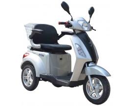 eycos BEST AGER Elektromobil, Sniorenmobil, Elektro-Dreirad, Elektroroller SILBER